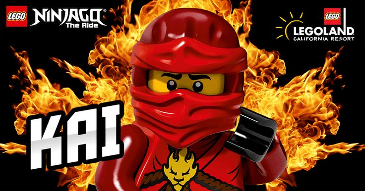 "I got ""You're most like Kai!"" on ""LEGO® NINJAGO® World Quiz"". What about you?"