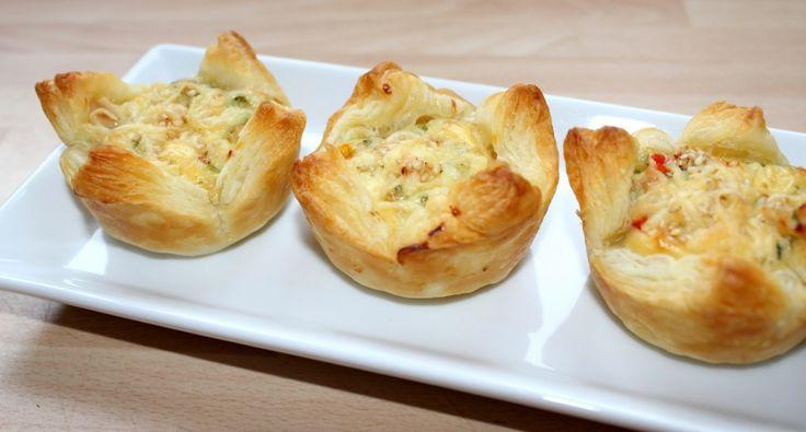 Sajtos-csirkés muffin recept | APRÓSÉF.HU - receptek képekkel