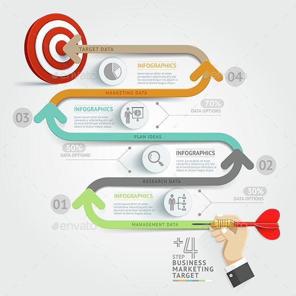 Business Target Marketing Dart Idea Template. Download here: http://graphicriver.net/item/business-target-marketing-dart-idea/14568261?ref=ksioks