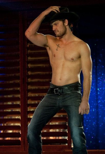 Alex Pettyfer shirtless in Magic Mike
