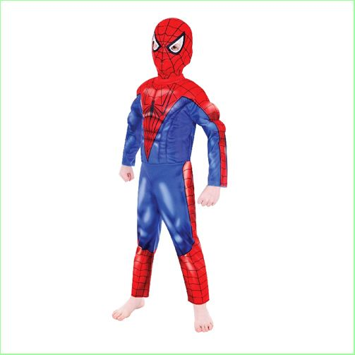 Spiderman Kids Costumes Deluxe Size Small 3-5 Years NEW #spiderman #kidscostumes  http://www.greenanttoys.com.au/shop-online/kids-costumes/superhero-costumes/spiderman-deluxe-small/