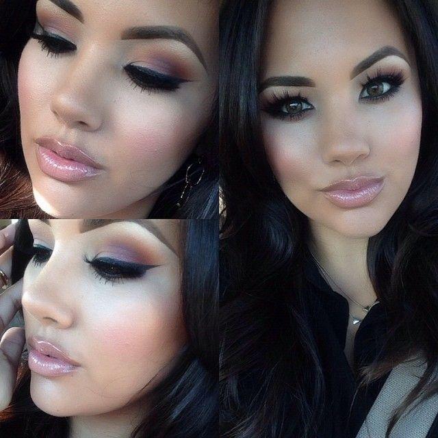 Anastasia brows, NYX Invincible foundation & MAC blush