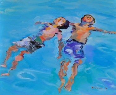 "Saatchi Online Artist claudio malacarne; Painting, ""dreamers"" #art"