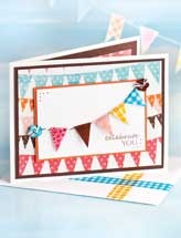 Paper Crafting - Card Patterns - Birthday Card Patterns - Celebrate You