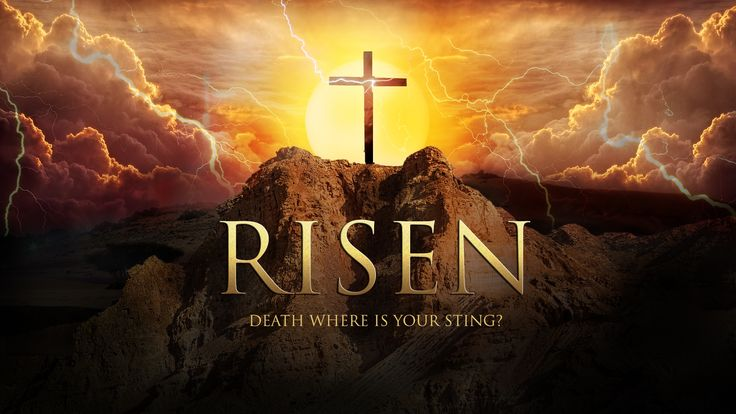 Jesus is Risen! Death,where is your sting?