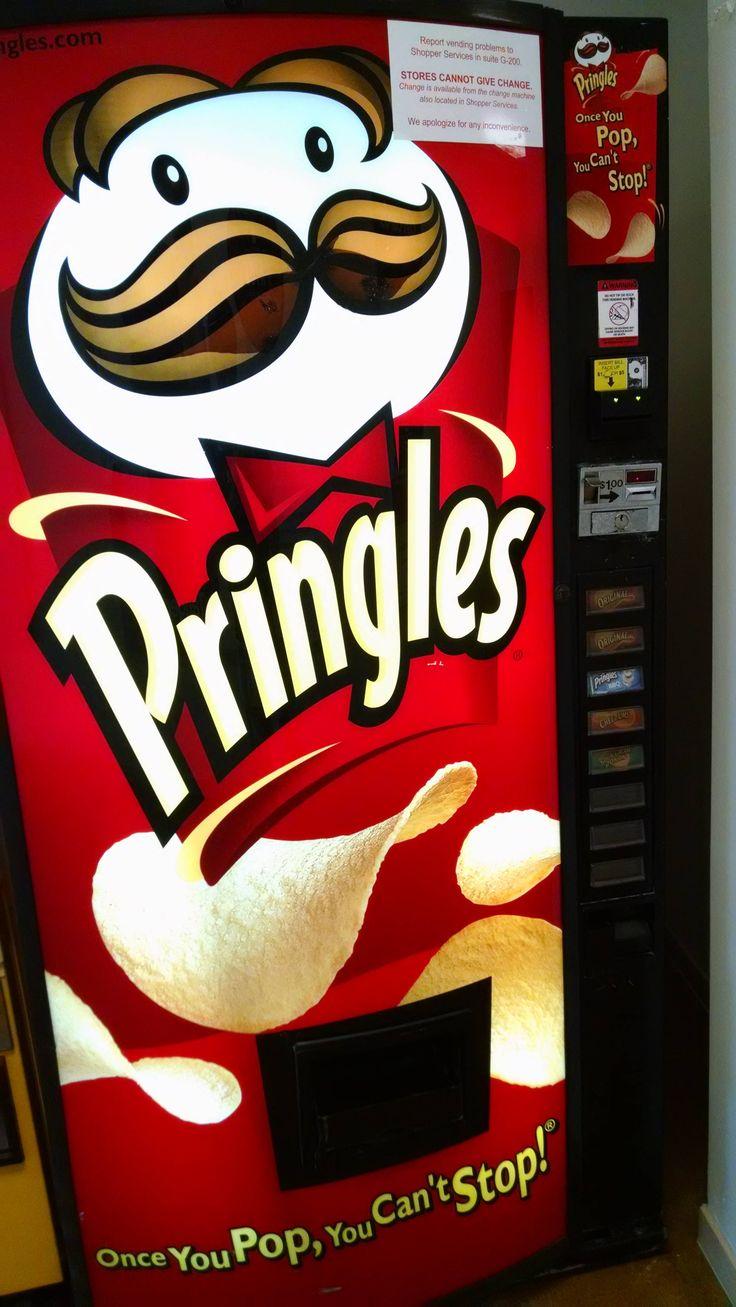 Hair accessories vending machines - Pringles Vending Machine