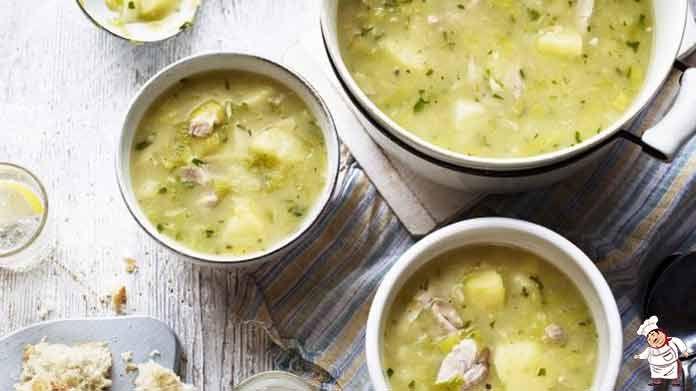 Суп картофельный с курицей рецепт | Готовим рецепты
