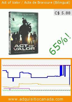 Act of Valor / Acte de Bravoure (Bilingual) (DVD). Drop 65%! Current price C$ 5.88, the previous price was C$ 16.98. https://www.adquisitiocanada.com/alliance-films/act-valor