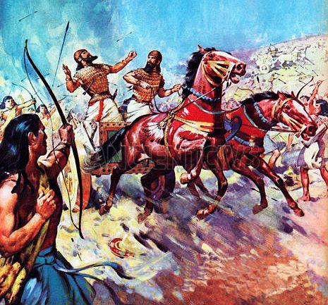Древняя битва при Мегиддо  Древняя египетская цивилизация оставила нам много военных хроник. В одной из записей повествуется о сражении между Древним Египтом и коалицией правителей Северной Сирии и Палестины, в союзе с Митанни  #Древняя_битва #Армагеддон #Ханаан #Мегиддо #Тутмос_III #Сирия #Палестина #Древний_Египет #сражение #война #Кадеш #коалиция #цивилизация #храм_Амона #хроника #военное_искусство #хурриты #колесница #Карнакский_храм #Митанни #гиксосы http://ancientcivs.ru/megiddo