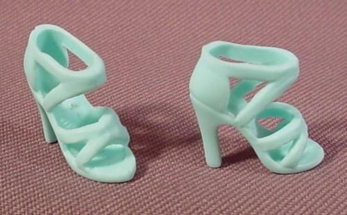 Vintage Doll Shoe High Heel Marked