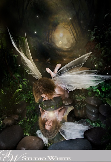 Mystical Creations by Studio White  ~Playful Fairy~