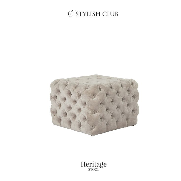 Beautiful and elegant Heritage stool will become great piece in your bedroom.
