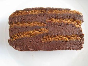 terrine chocolat et spéculoos (sans cuisson)
