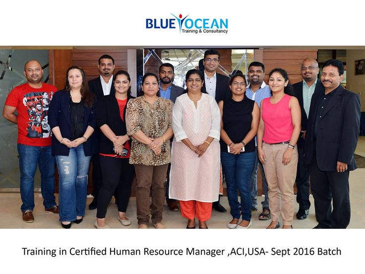 Certified Human Resourse Managers.