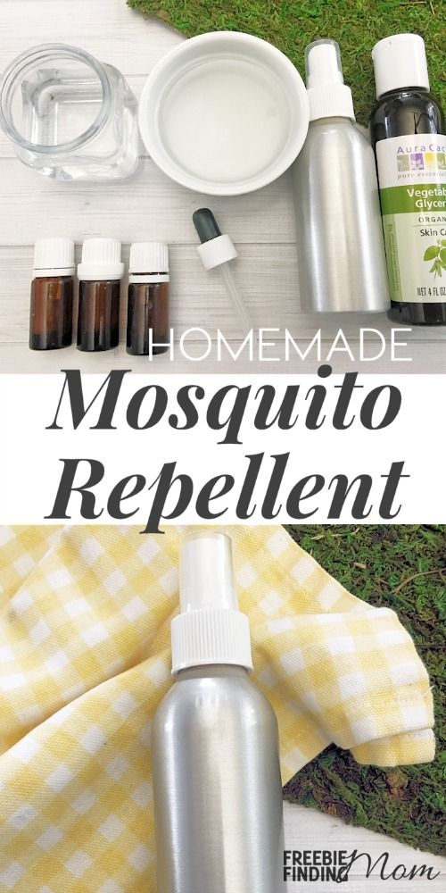 Tired of getting eaten alive when you step outside? Instead of lathering yourself with sticky and smelly chemical laden bug spray or hovering near a citronella candle, take a few minutes to whip up this natural homemade mosquito repellent. This homemade bug repellent recipe requires just 6 ingredients and is safe to use on everyone (including kids).