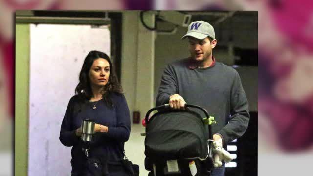 Wyatt, la bebe de Mila Kunis y Ashton Kutcher, es vista por primera vez en foto filtrada