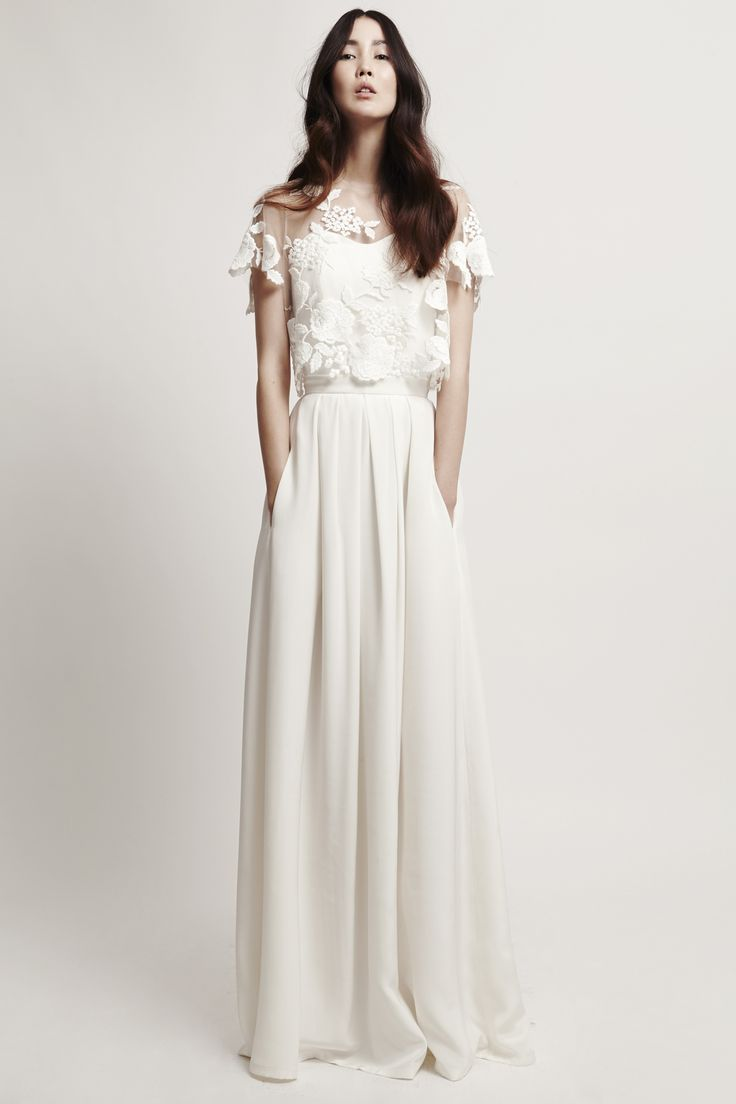 146 best Brautkleider images on Pinterest   Gown wedding, Wedding ...