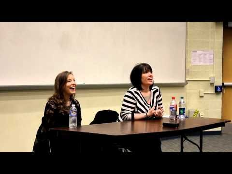 Women in Anime panel with Monica Rial & Cherami Leigh @ Tora-Con 2013 FUNNY