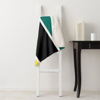 Mozambique Flag Sherpa Blanket - home gifts cool custom diy cyo