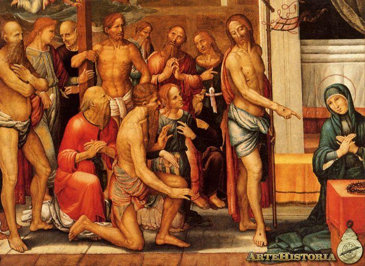 """Nos encontramos ante un cuadro realizado por Fernando Yañez de la Almedina, en 1505 , titulado """"Cristo Resucitado""""."""