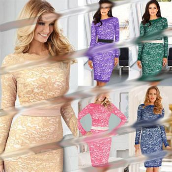 Find More Dresses Information about 2014 New Woman Casual Clothes  Full Spring Sexy Slim Bandage Vintage Lace Bodycon Pencil Celebrity Dresses Plus Size Hot Sale,High Quality Dresses from Global Trade Direct Ltd. on Aliexpress.com