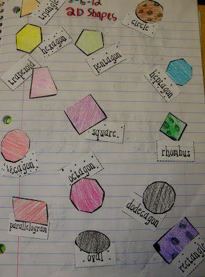 math journal: Grade Math, Math Journals 2Nd Grade, Plays Matching, Shape Math, Journals Entry, Shape Matching, Math Ideas, Matching Games, Classroom Ideas