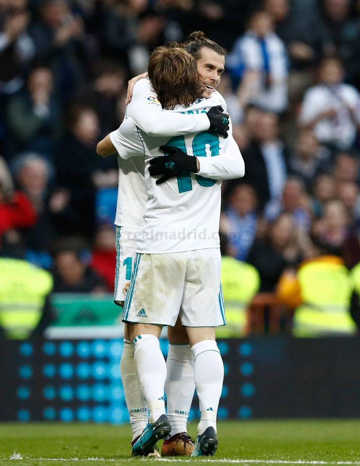 Bale & Modric #realmadrid #football