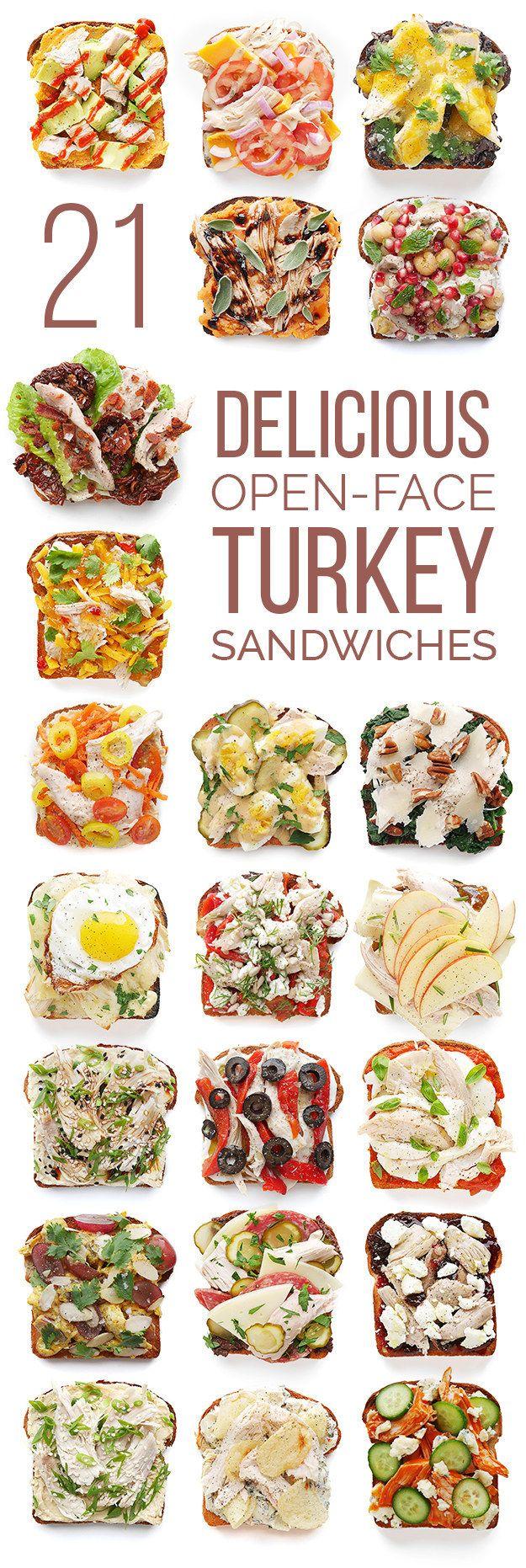 Toast + Thanksgiving Leftovers = Heaven.