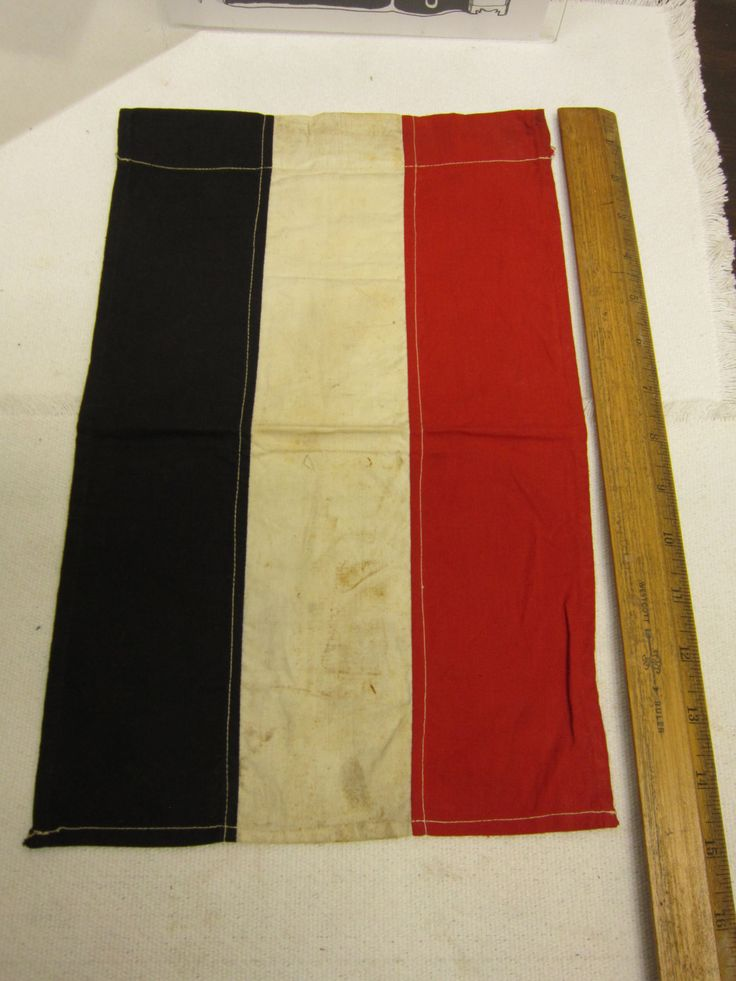 """Vintage Antique WW1/WWI First World War German Prussian Flag 14.5"""" x 9.5"""" by VintageFindings1909 on Etsy"""