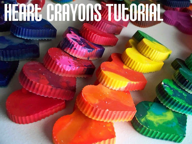 Heart Shaped Crayons Tutorial: Valentines for classmates: Valentines Crafts, Crafts Ideas, Crayons Heart, For Kids, Heart Shape, Melted Crayons, Kids Crafts, Valentines Day, Heart Crayons