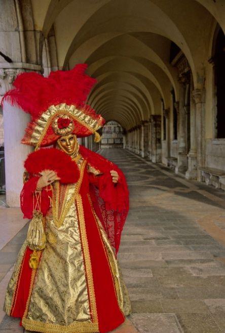 venice carnival costume re
