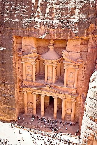 Petra, Jordan - Top 9 places to see before you die: http://www.ytravelblog.com/top-10-places-to-see-before-you-die/ travel destinations #travel #wanderlust #explore