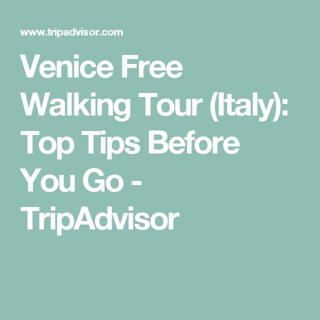 Venice Free Walking Tour (Italy): Top Tips Before You Go - TripAdvisor