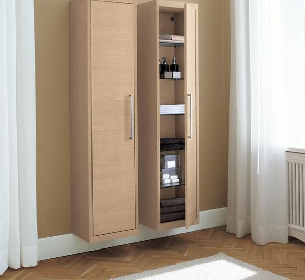 Bathroom cabinets tall narrow bathroom cabinet with the for Narrow cabinet ideas