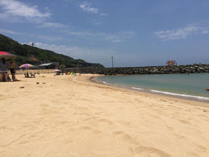 外木山沙灘 in Taipei