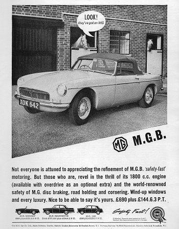 MGB Car Print 1963, Advertising Wall Art by RetroAdverts on Etsy https://www.etsy.com/listing/161065801/mgb-car-print-1963-advertising-wall-art