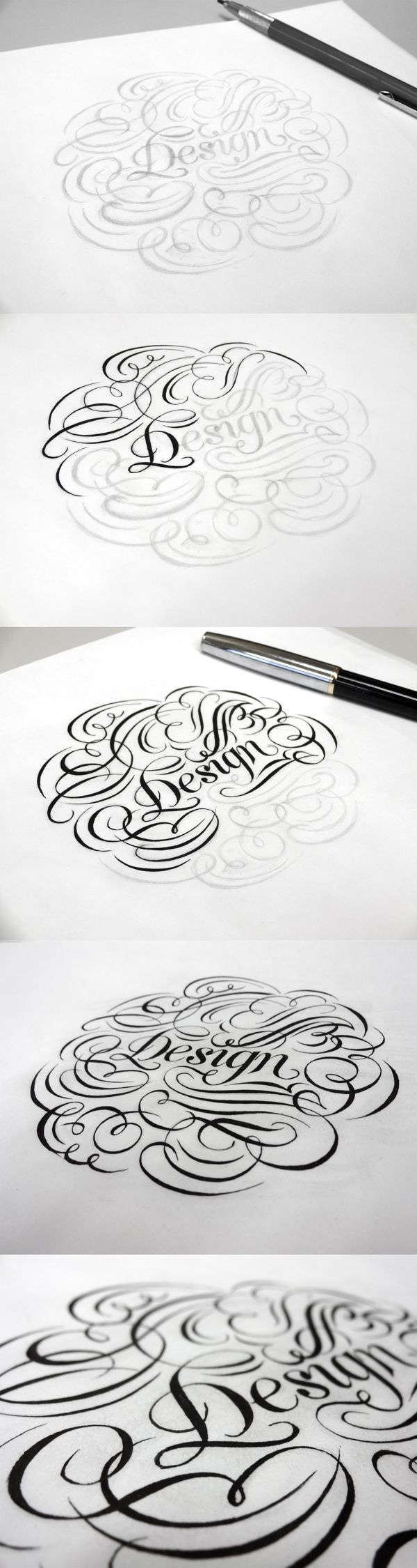 Hand Lettering 3 by Anh vu, via Behance