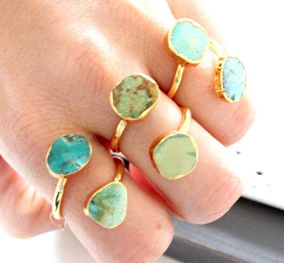 SALE  Druzy ring 24K Gold Plated custom size  pick by anthology27