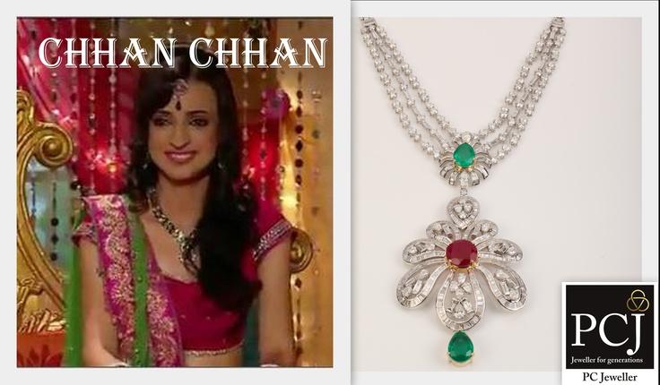 Celebrate the #wedding of Chhan Chhan on Sony TV (India) @SonyTV with #PCJDiva as she picks #WeddingJewellery from @PC Jeweller Ltd