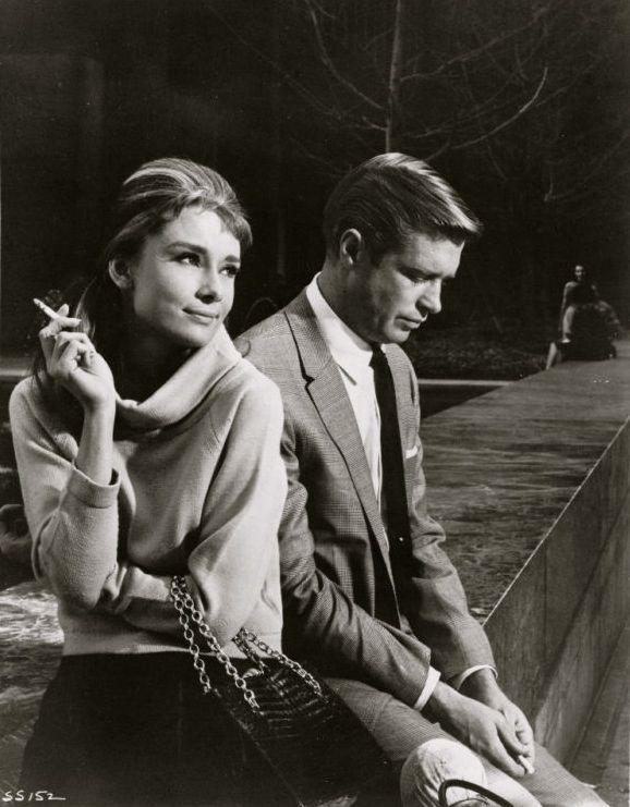 Audrey Hepburn & George Peppard