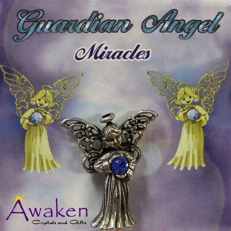 Guardian Angel Pins  www.awakencrystals.com