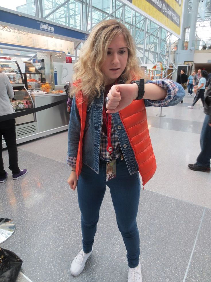 Female Marty McFly- Sooo, I've already decided that this shall be my costume this year, since it's 2015 and all...