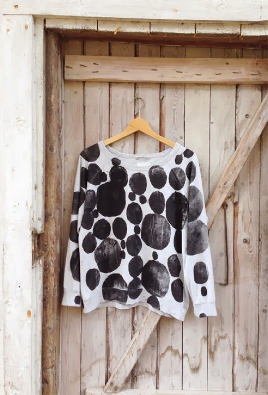 TO DIY OR NOT TO DIY: HOME PRINTED SWEATER
