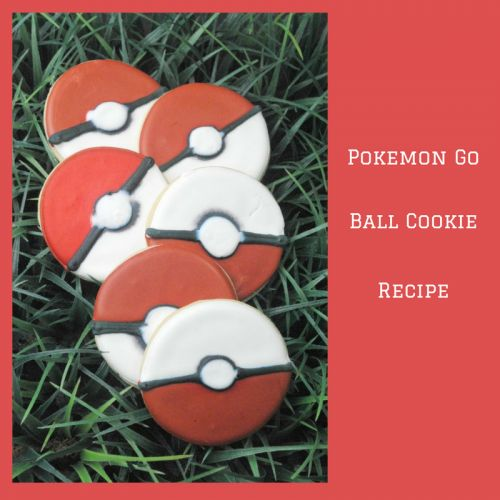 Check out this great recipe for Pokemon Go Ball Cookies from our Recipes From Friends - Weekend Series.