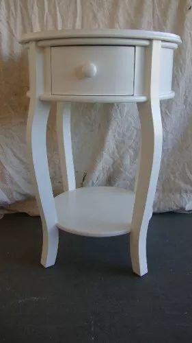 mesa com gaveta criado mudo decorativo barrica mesa de apoio