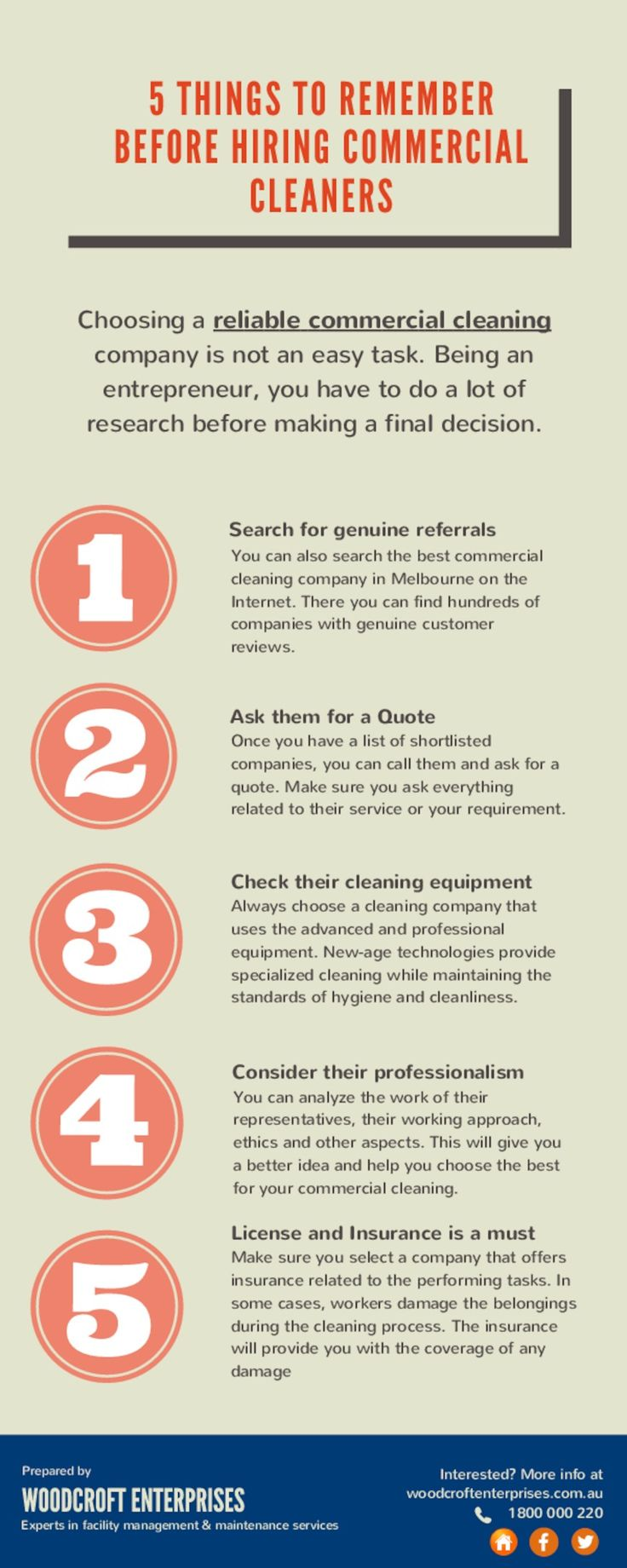 Things to Remember While Hiring Commercial Cleaning Service Company