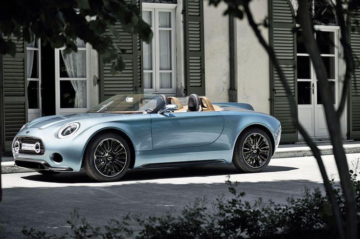 Spektakuläre Mini-Studie: So elegant sind britisches und italienisches Design lange nicht mehr vereint worden. Der Roadster könnte sogar in Serie gehen.