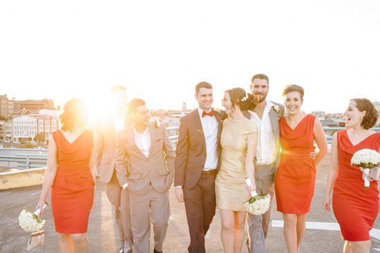 Brisbane Art Gallery Wedding - Polka Dot Bride