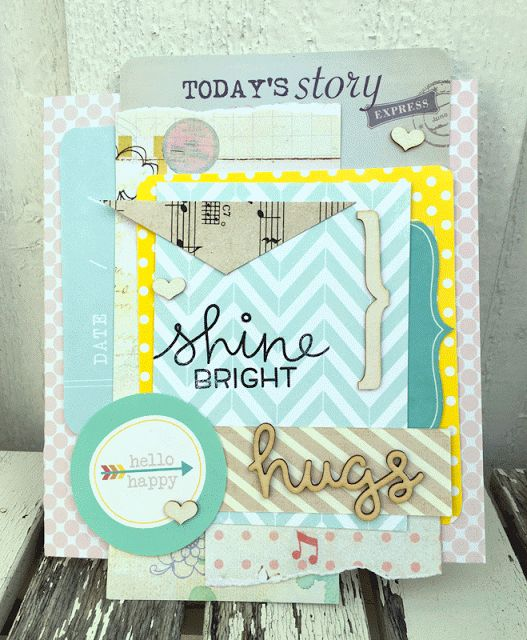 Card made for Kreativ Scrapping