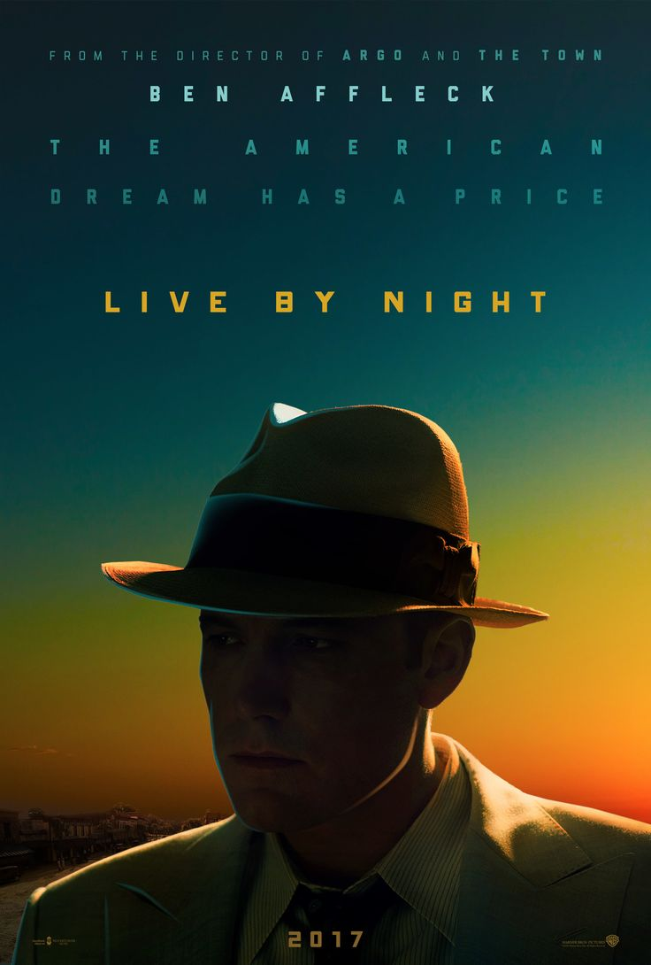 Live by Night (2016) R | Crime, Drama | 13 January 2017 (USA) - A story set in the Prohibition Era and centered around a group of individuals and their dealings in the world of organized crime.